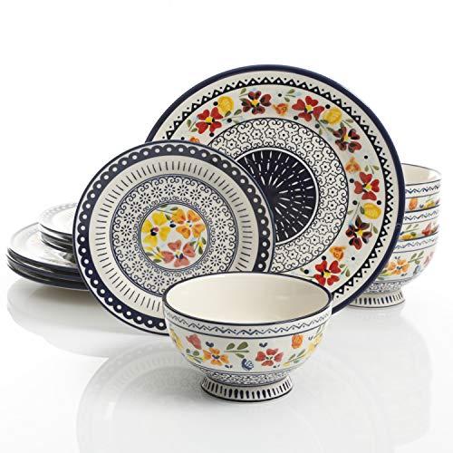 Luxembourg 12 pc dinnerware set