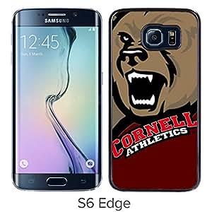 Ncaa Cornell Big Red 11 Black Popular Custom Design Samsung Galaxy S6 Edge G9250 Phone Case