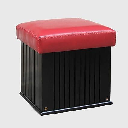 Groovy Amazon Com Storage Stool Black Dark Brown Wood Waterproof Bralicious Painted Fabric Chair Ideas Braliciousco