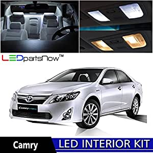 ledpartsnow 2012 2014 toyota camry no sunroof led interior lights accessories. Black Bedroom Furniture Sets. Home Design Ideas