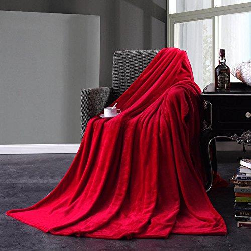 Washcloth Broad Flannel Blankets Bedding - Flannel Blankets Warm Plush Blanket Soft Blanket Bed Home Plane Travel Coperta Throws Sofa - All-Embracing Panoptic Washrag Encompassing - 1PCs