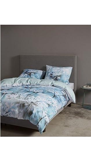 Essenza Bettwäsche Tessel Blau 200x220 Amazonde Küche Haushalt