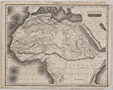 Historic 1815 Map | Northern and Central Africa | Africa, North | MapsAntique Vintage Map Reproduction
