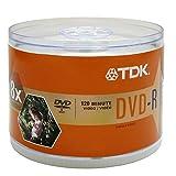 TDK Systems 50PK Single Side DVD-R 4.7GB 8X