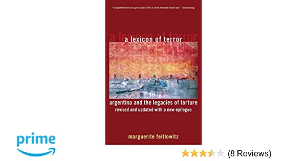 Amazon.com: A Lexicon of Terror: Argentina and the Legacies of ...