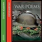 War Poems |  various