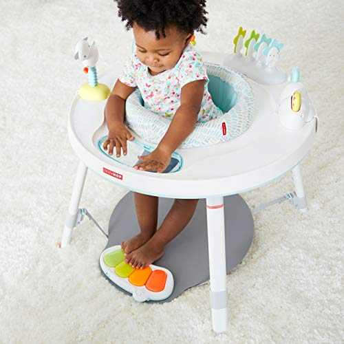 51ZM46D2SCL - Skip Hop Baby's View 3-Stage Activity Center, Silver Lining Cloud, 4 Months