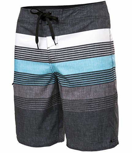O'Neill Men's Catalina Avalon Board Short - BLK-36, Brisbane Multi, Size 36