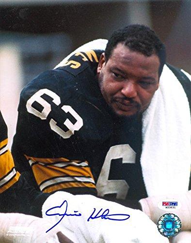 dea5dd3bab8 Signed Ernie Holmes Picture - Close Up 8x10 - Autographed NFL Photos ...