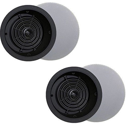 Speakercraft Profile A6 6'' 100 Watts 100W 8 Ohm In Ceiling Home Speaker (2 Pack) by SpeakerCraft
