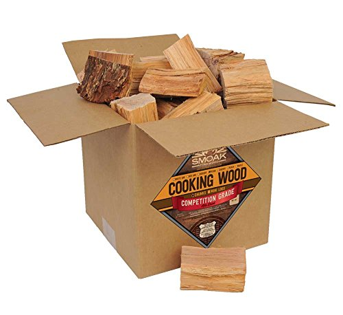 (Smoak Firewood Cooking Wood Chunks - USDA Certified Kiln Dried (Pecan, 25-30 lbs))
