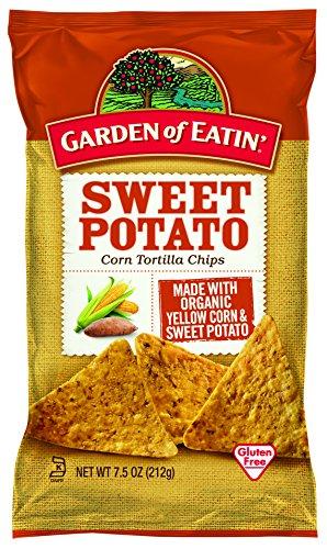 - Garden of Eatin' Sweet Potato Corn Tortilla Chips, 7.5 Ounce (Pack of 12)