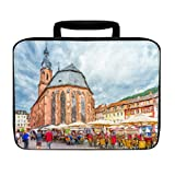 Church Holy Spirit Heidelberg Painting Insulated Lunch Box Bag