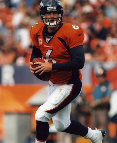 Cutler Photo - JAY CUTLER DENVER BRONCOS 8X10 SPORTS ACTION PHOTO (F)