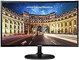 "Samsung LC24F390FHLXZX - Monitor Curvo, Negro (Black High Glossy), 23.5"""
