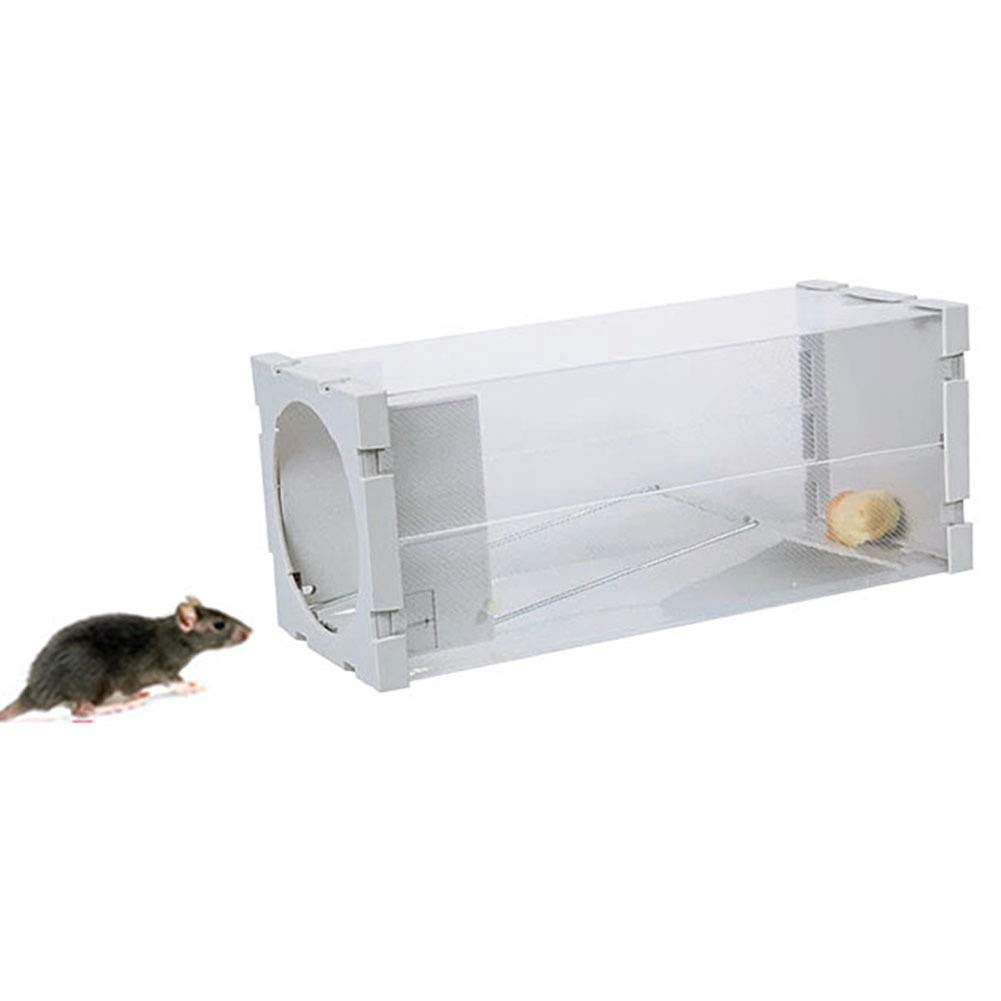 UJincg Trampa hogar o jardín Rata reciclable Ratonera Mouse Trap ...