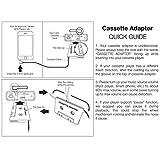Insten Car Audio Cassette Tape Adapter Compatible