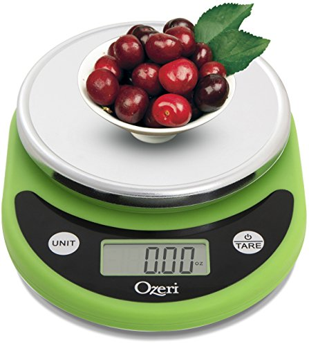 Ozeri Pronto Digital Multifunction Kitchen and Food Scale, Elegant Black