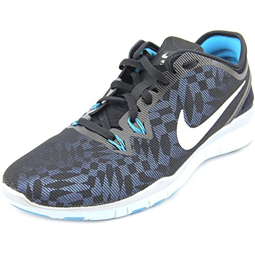 Nike Nike Free 5.0 Tr Fit 5 Metallic - Zapatillas de gimnasia de Material Sintético para mujer Negro Nero/Viola