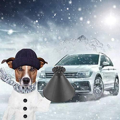Magical Car Ice Scraper Grattoir /à Neige Auto Grattoir Pare Brise Grattoir /à Glace Noir 2 en 1 dune Huile Entonnoir Pelle /à Neige Grattoir /à Neige pour Voiture,pour Tout Voitures Camions