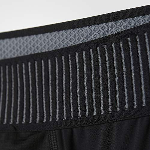 adidas Performance Men's Padded Three-Quarter Tights, Black, 2XT by adidas (Image #3)
