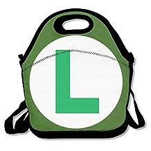 NaDeShop Mario Luigi Logo Lunch Bag Tote