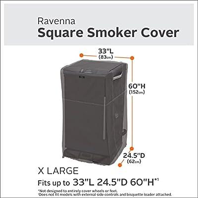 Classic Accessories 55-852-045101-EC Ravenna Square Smoker Cover