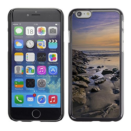 "Hülle Case Schutzhülle Cover Premium Case // F00003407 Küste // Apple iPhone 6 6S 6G 4.7"""