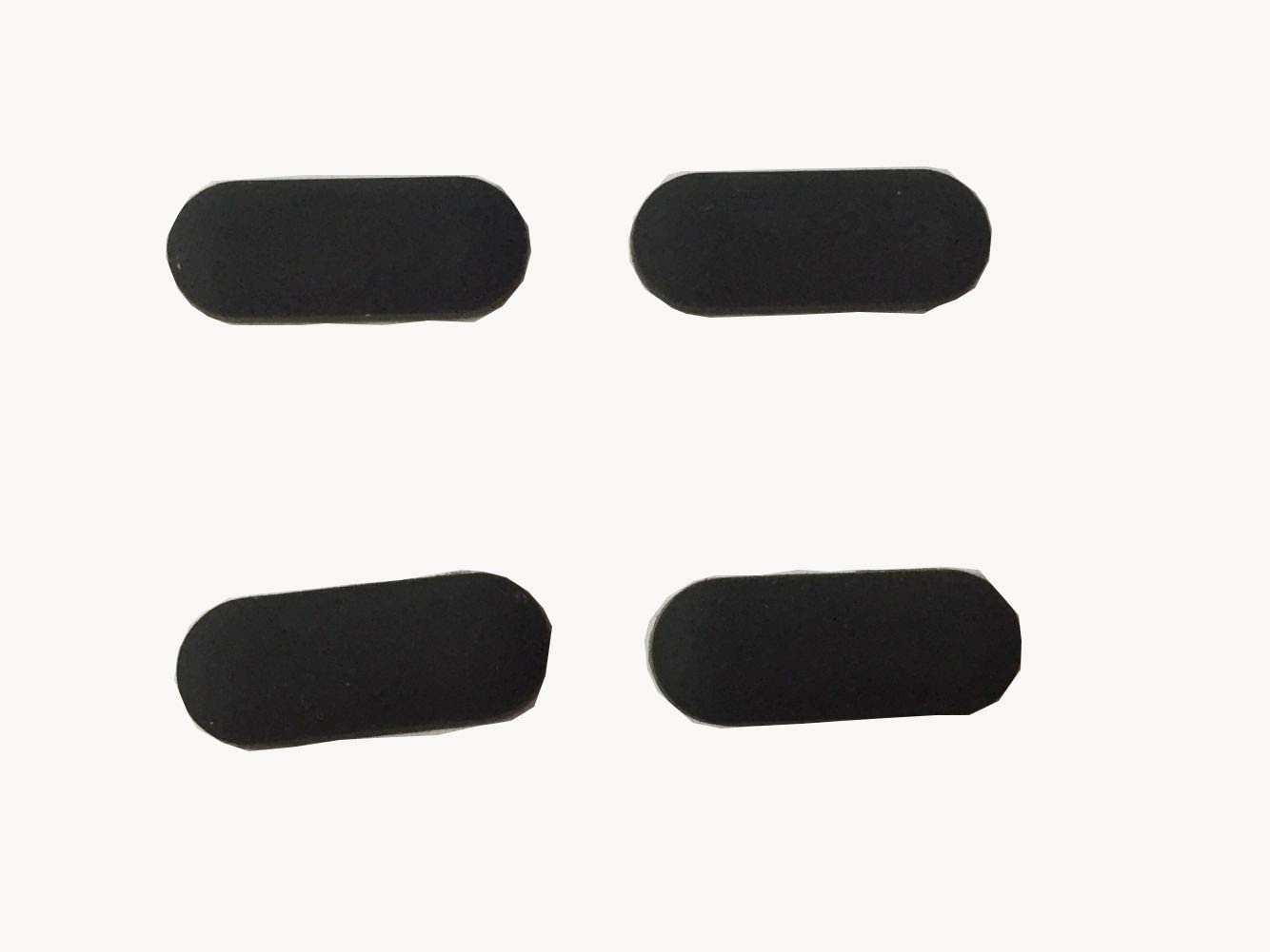 YCLM Replacement Rubber Feet Compatible with Dell Latitude E7440 7240 7250 7450 Series Bottom Foot Cover Clack 4PCS/Set
