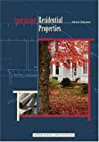 Appraising Residential Properties, Appraisal Institute Staff, 0922154570