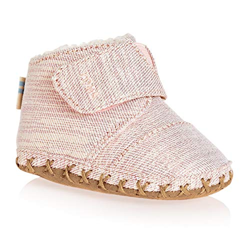 TOMS Kids Baby Girl's Cuna (Infant/Toddler) Rose Cloud Twill Glimmer 4 M US Toddler M