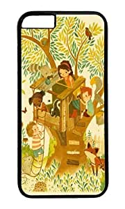 Apple Iphone 6 Case,WENJORS Awesome Our House In the Woods Hard Case Protective Shell Cell Phone Cover For Apple Iphone 6 (4.7 Inch) - PC Black hjbrhga1544