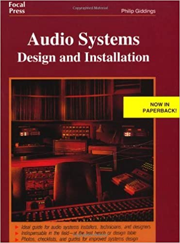 Book Audio Systems Design and Installation by Giddings Philip (1997-06-12)
