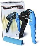 Cheap Grip Shark Grip Strengthener + FREE BONUS Comfort Grip – Premium Adjustable Hand Wrist Grip Finger Forearm Exerciser – Best Resistance and Range 22 to 70 Lbs (10-32 Kg)