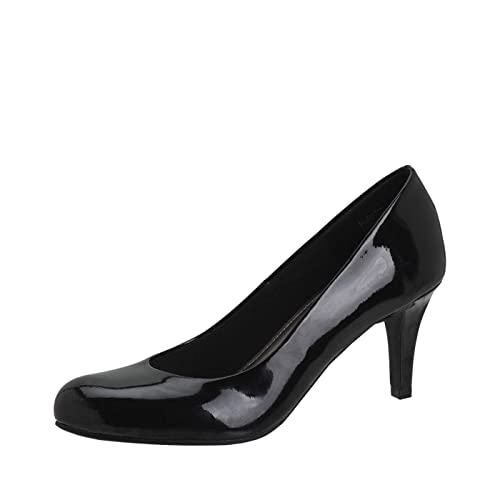 9d59ab762 Comfort Plus by Predictions Karmen Women's Pumps - Comfy & Trendy 3 Inch  Heels with Round Toe - Ideal for The Office or Classy Events Like Weddings  & Galas: ...