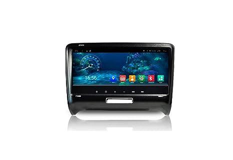 "ZNYSTAR Android 9 ""HD Full pantalla táctil Autoradio GPS coche estéreo coche GPS GPS"