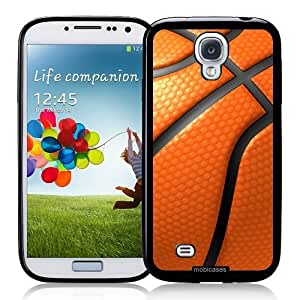 Cool Painting Basketball - Protective Designer BLACK Case - Fits Samsung Galaxy S4 i9500