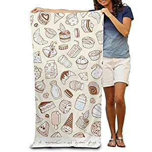 Funny Background Beach Bath Pool Hooded Extra Large Towels Blanket For Adult