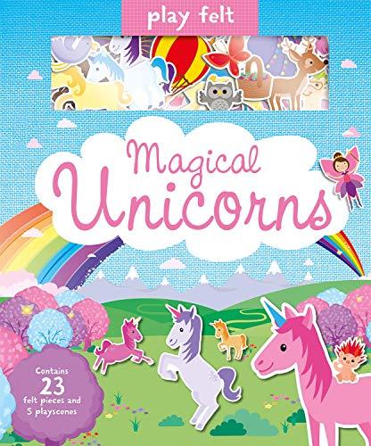 Play Felt Magical Unicorns (Soft Felt Play Books) (Educational Felt)