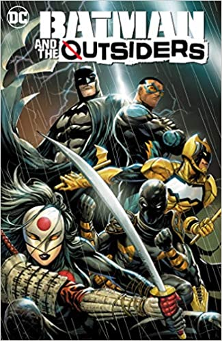 Amazon.com: Batman and the The Outsiders Vol. 1: Lesser Gods ...