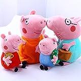"Amazon Price History for:4Pcs Piggy Pig Family Stuffed Toy 12"" DADDY MOMMY 8"" Children - Bundle/Bulk Buy"