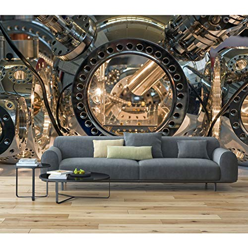 Mural Wall Art Decor Swiss Watch Large 100 x 144 ()