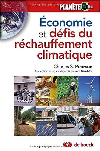 Analyse economique des défis du changement climatique