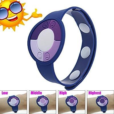 Wemelody 3PCS/Lot Outdoor UV Tester Band Bracelet Meter