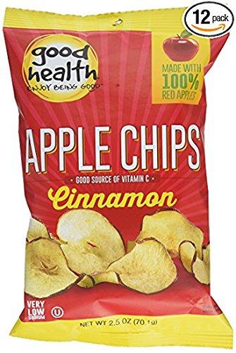 Good Health Chips, Cinnamon Apple, 2.5 Ounce (Pack of -