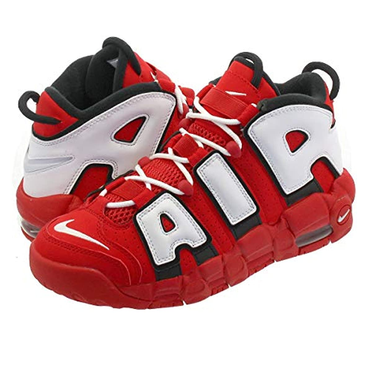[해외] 나이키 AIR MORE UPTEMPO GS UNIVERSITY RED/WHITE/BLACK