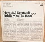 Herschel Bernardi Sings Fiddler On The Roof