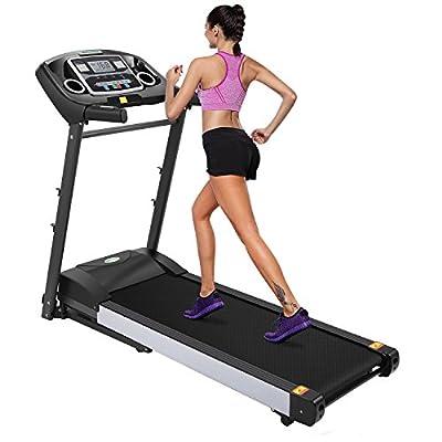 Electric Folding Treadmill Health Fitness Training Equipment W525