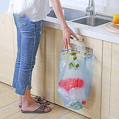 Bolsa de basura de cocina de acero inoxidable sin costura ...