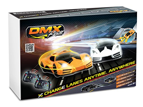 DMXSLOTS Exclusive Slot Car Racing Package (4 Cars Included) (Slot Car Track Set)